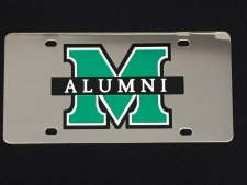 M/Alumni Stainless Steel License Plate