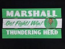 Marshall Go! Fight! Win! Sign