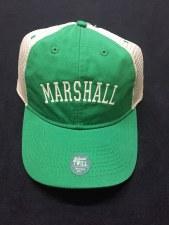 Marshall Trucker Hat- Kelly/Tan