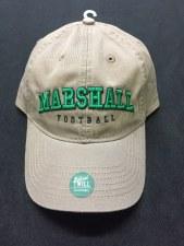 Marshall Football Hat- Driftwood