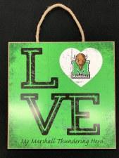 Love Square Plaque