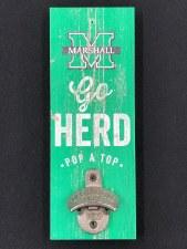 Go Herd! Wall Mount Bottle Opener