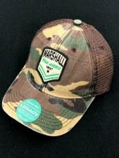 Marshall Patch Camo Trucker Hat