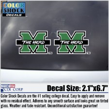 M/The Herd 2 Pack Decal