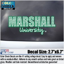 Marshall University Chevron Fill