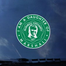 Daughter of Marshall Decal