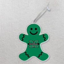 Marshall Gingerbread Man Ornament