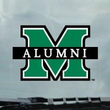 M/Alumni Static Cling