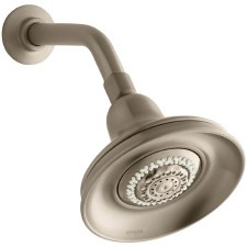 Bancroft®  2.5 gpm multifunction wall-mount showerhead