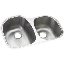 """Cinch® 31.5"""" x 20.5"""" x 9"""" Undercounter Offset Sink"""