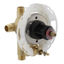 "Rite-Temp® 1/2"" pressure-balancing valve with push-button diverter"