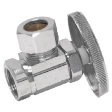 5/8 in. Compression x 3/8 in. Compression Angle Stop Valve