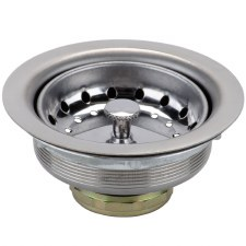 Do it 3-1/2 In. Stainless Steel Basket Chrome Housing Basket Strainer Assembly