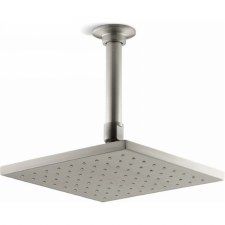 "Contemporary Square 8"" rainhead with Katalyst® air-induction spray, 2.0 gpm"