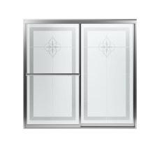Prevail® Framed Sliding Bath Door with ComforTrack™ Technology