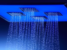 WaterTile®  Ambient Rain® overhead shower panel