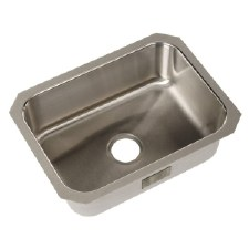 "McAllister®  McAllister® 24"" x 18"" x 8"" Undercounter Single-basin Kitchen Sink"