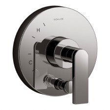 Composed®  valve trim with diverter and lever handle for Rite-Temp® pressure-balancing valve, requires valve