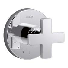 Composed™ volume control valve trim with cross handle