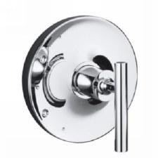 Purist®  Rite-Temp® valve trim with lever handle