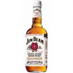 Jim Beam Bourbon Whiskey 750ml