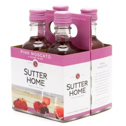 Sutter Home Pink Moscato 4pk