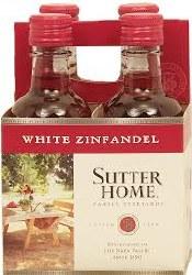 Sutter Home White Zin 4pk