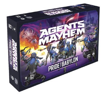 Agents of Mayhem Pride Of Babylon Base Set Board Game