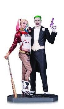 Harley Quinn & Joker Statue, Suicide Squad Movie