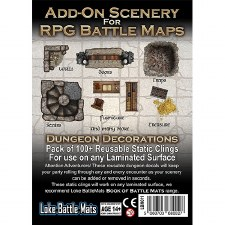 D&D Add-On Scenery for RPG Maps -Dungeon Decorations