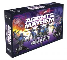 Agents of Mayhem Pride Of Babylon Base Set Board Game