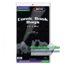Bags, Comic Silver Reseal Pk (100)