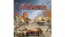 Battle of El Alamein War in the Desert Board Game