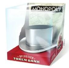 Bank: Monopoly Top Hat Oversized Token Bank