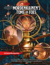D&D RPG: Mordenkainen`s Tome of Foes HC Book