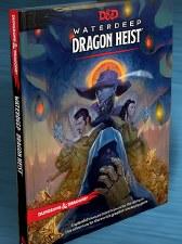D&D RPG: Waterdeep Dragon Heist HC Book