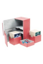 DB: Red Flip-N-Tray 100+ Deckbox