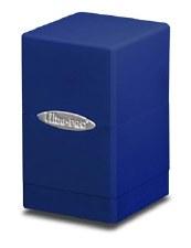 DB Blue Satin Tower 100+ DeckBox