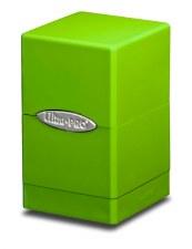 DB Green, Lime Satin Tower 100+ Deck Box