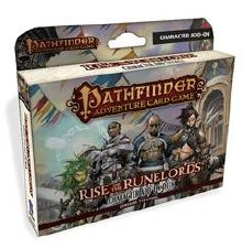 Pathfinder Adv Card Game RiseO/T Runelords Char Deck