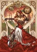 GFT Steampunk Alice In Wonderland Cvr C Krome (MR)