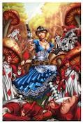 GFT Steampunk Alice In Wonderland Cvr D Luis (MR)