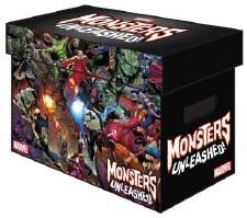 Box MG Monsters Unleashed Comic Sht Box