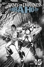 Army Of Darkness Bubba Hotep #2 30 Copy Mandrake B&W Incv (N