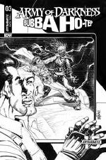 Army Of Darkness Bubba Hotep #3 30 Copy Mandrake B&W Incv (N
