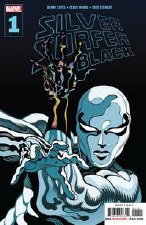 Silver Surfer Black #1 (Of 5)Signed by Tradd Moore