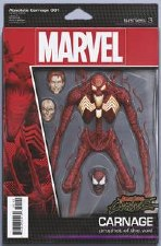 Absolute Carnage #1 (Of 4) Christopher Action Figure Var Ac