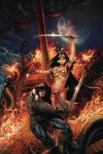Cimmerian Queen Of Black Coast #1 Cvr A Jason Metcalf (MR)