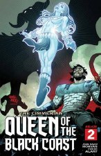 Cimmerian Queen Of Black Coast #2 Cvr B Chriscross (MR)