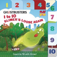 Ghostbusters 1 To 10 Slimers Loose Again Board Book